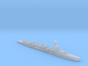 ORP Conrad formally HMS Danae 1:1800 WW2 cruiser in Smoothest Fine Detail Plastic