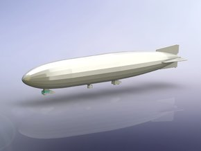 German Zeppelin L30 (LZ62) 1/1250 in Smooth Fine Detail Plastic