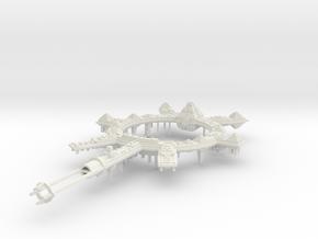 Nave Sepulcro clase Piramide B in White Natural Versatile Plastic