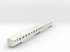 b-87-lner-coronation-twin-rest-open-3rd in White Natural Versatile Plastic
