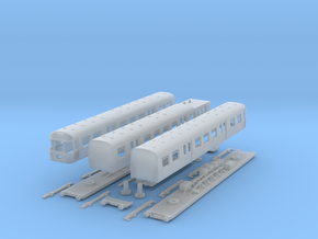 "Class 303 "" Blue Train"" in N Gauge in Smooth Fine Detail Plastic"