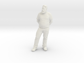 Printle C Homme 158 - 1/32 - wob in White Natural Versatile Plastic
