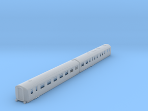 b-148fs-lner-br-coronation-twin-rest-open-3rd in Smooth Fine Detail Plastic