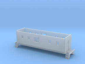 C&EI Bay Window Caboose Body HO Scale in Smooth Fine Detail Plastic