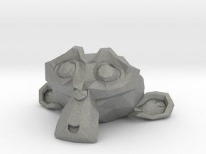 Suzanne the Monkey - Blender 2.8 in Gray PA12