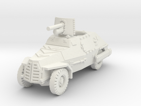 Marmon Herrington mk2 (47mm gun) 1/76 in White Natural Versatile Plastic