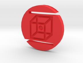 58mm Lens Cap - Replacement in Red Processed Versatile Plastic