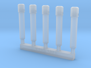 Barrel Extender V1 X5 in Smoothest Fine Detail Plastic