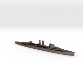 HMS Surrey 1:2400 WW2 proposed cruiser in Polished Bronzed-Silver Steel