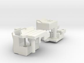 TR: Tidal upgrade2 in White Natural Versatile Plastic
