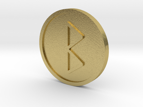 Beorc Coin (Anglo Saxon) in Natural Brass