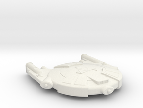 3125 Scale Andromedan Courier Scout SRZ in White Natural Versatile Plastic