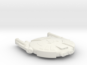 3125 Scale Andromedan Eel Scout SRZ in White Natural Versatile Plastic