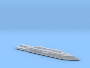 3788 Scale Frax War Destroyer Carrier MGL in Smooth Fine Detail Plastic
