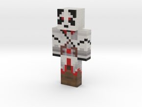 GoatUnicorn69 | Minecraft toy in Natural Full Color Sandstone