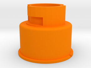 Modulus Barrel Adapter for Nerf Rival Apollo in Orange Processed Versatile Plastic
