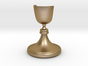 Knight - [2,1] Craxton in Polished Gold Steel