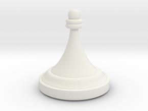 Pawn - F[1,0M/1,1C] Craxton in White Premium Versatile Plastic