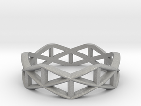 Truss Ring  in Aluminum: 5 / 49