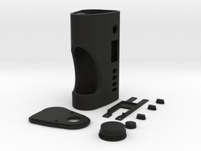 Square_One Vape Mod DNA75c 21700 Squonk in Black Natural Versatile Plastic