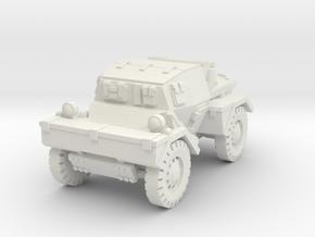 Daimler Dingo mk1 (closed) 1/100 in White Natural Versatile Plastic