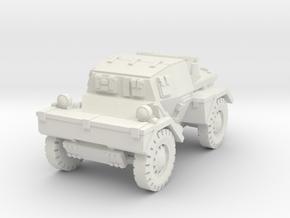 Daimler Dingo mk1 (closed) 1/72 in White Natural Versatile Plastic