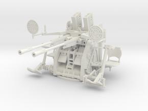 1/35 IJN Type 96 25mm Twin Mount in White Natural Versatile Plastic