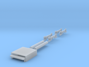 Z2 Chassis Extension and Bogie sides in Smooth Fine Detail Plastic