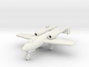 (1:144) Argus-Junkers Ground Attack (Gear down) in White Natural Versatile Plastic
