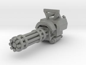 Miniature mini Gun  in Gray PA12