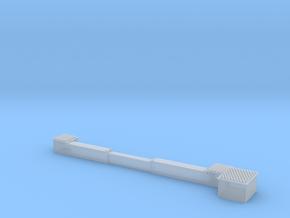 BG00-008-01 Weichenantrieb mit Kabelkanal in Smooth Fine Detail Plastic