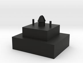 MX 125u Blocker v2 in Black Natural Versatile Plastic