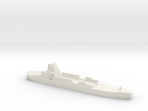 1/1800 Scale Atlantic Conveyor Container Ship in White Natural Versatile Plastic