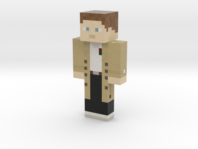 Hubius | Minecraft toy in Natural Full Color Sandstone