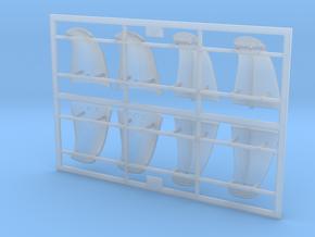 SEEHUND Typ127 1:24 Torpedohalter in Smooth Fine Detail Plastic