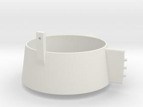 1/50 Portside Kort Nozzle Smit Rotterdam/London in White Natural Versatile Plastic