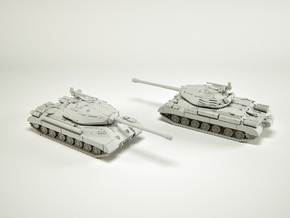 IS-4 Heavy Tank Scale: 1:144 in Smooth Fine Detail Plastic