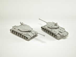 IS-4 Heavy Tank Scale (custom): 1:144 in Smooth Fine Detail Plastic