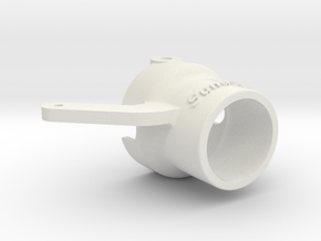 Sundogz ProBoat RiverJet Improved Steering Nozzle in White Natural Versatile Plastic