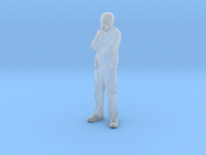 Printle V Homme 604 - 1/50 - wob in Smooth Fine Detail Plastic