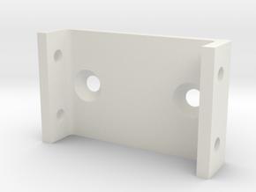 AYK Radiant servo saver holder RZ-14 in White Natural Versatile Plastic