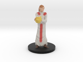 Cleric in Natural Full Color Sandstone