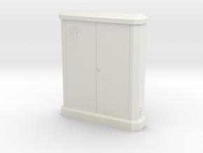 1/43 sub distributor PTT / sous répartiteur PTT in White Natural Versatile Plastic