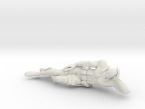 Printle V Homme 622 - 1/12 - wob in White Natural Versatile Plastic