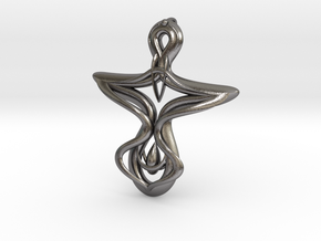 Gankh in Polished Nickel Steel