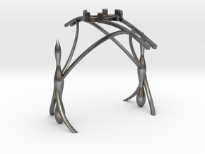Tea Light Holder - Nangi2 in Polished Nickel Steel