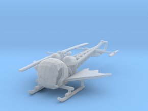 BATCOPTER 160 scale in Smooth Fine Detail Plastic