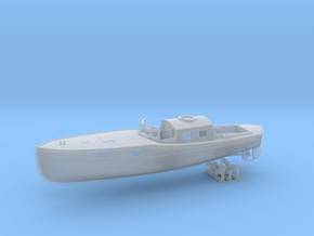 1/56 DKM Boat 9m Captain's Gig in Smooth Fine Detail Plastic