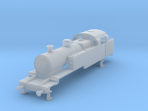 b-100-lms-fowler-2-6-2t-loco in Smooth Fine Detail Plastic