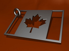 MAPLE LEAF in Stainless Steel